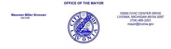 Mayor Maureen Miller Brosnan Letterhead