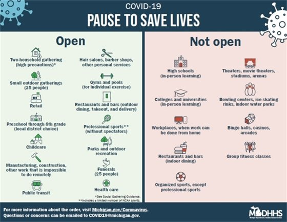 Pause to Save Lives flyer