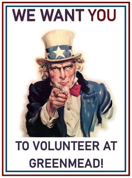 Uncle Sam: I want you to volunteer at Greenmead