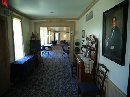 Hallway of the Alexander Blue House