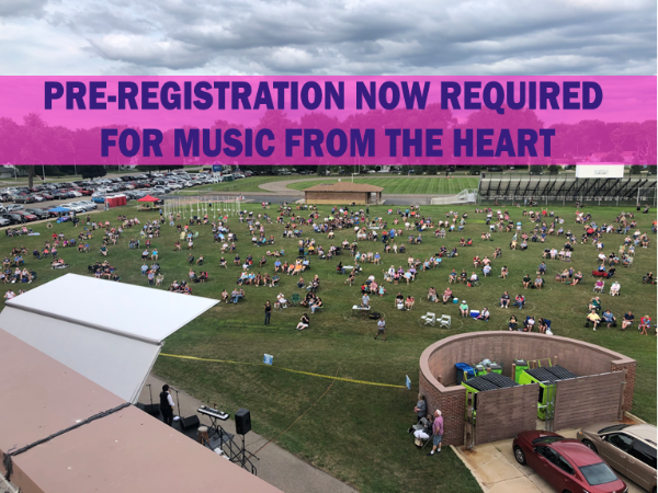 Music From the Heart Registration Required