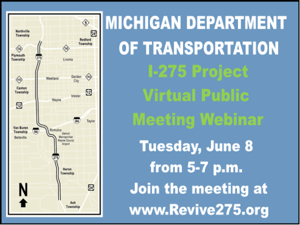 I-275 Public Meeting Postcard