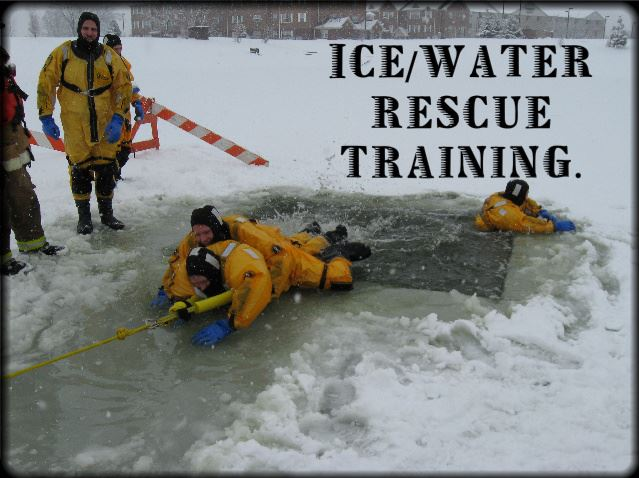 Ice and Water Rescue Training