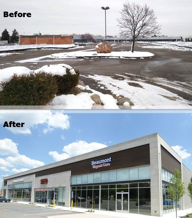 Brownfield Before and After Image